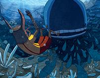 Pinocchio Underwater