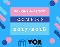 VOX Cinemas Egypt - Social Posts and Videos
