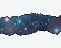 Out of the Blue   Music Album Design