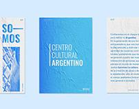 Centro Cultural Argentino. (identidad)