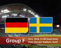 Sôi kèo Đức vs Thuỵ Điển ( Gemany vs Sweden)