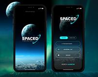#SPACEDchallenge Logo + App UI | UI/UX