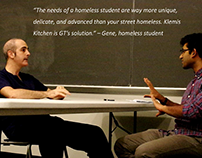 How can we help the homeless students of Georgia Tech?