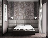 Some dark bedroom | CGI