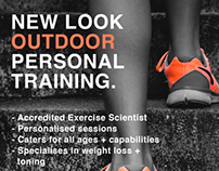 Personal training flyer
