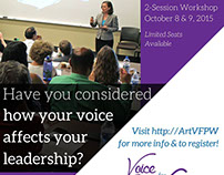 Voice for Professional Women Web Advertisement Series