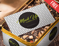 Tea Packaging - Free PSD Mockup