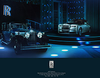 Rolls & Royce Phantom advertising campaign