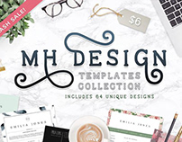 MHDesign Templates Collection /TheHungryJpeg Flash Sale