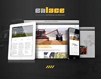 ENLACE Web page - UI/UX Design