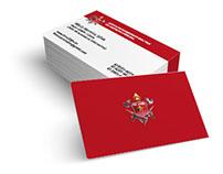 Cartão de Visita - Corpo de Bombeiros Distrito Federal