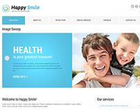 Happy Smile Joomla Template