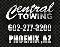 Central Towing Web Design & Social Media Graphics