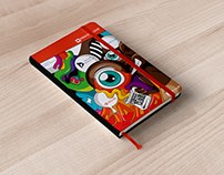 Notebook Cover Design | Microsoft & First for Cloud