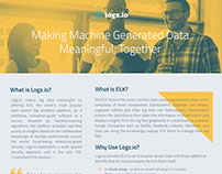Brochure Design for Logz.io