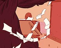"""Viñetas"" comic-book cover"
