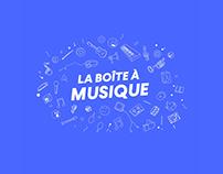 La Boîte à Musique - Format Social