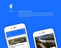 Glean App UX / UI Design