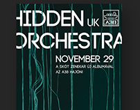 HIDDEN ORCHESTRA POSTER DESIGNS