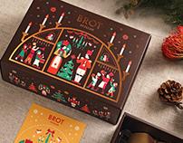 Brot Christmas Stollen Packaging