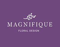"Логотип ""Magnifique floral design"""