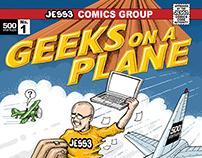 500 Startups: Geeks on a Plane Zine