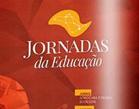 Jornadas da Educação - Identidade Visual (Mídia On/Off)