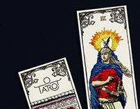O Tarot — visual identity