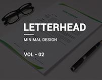 minimal Letterhead Vol-02