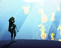 Jellyfish Speedpainting