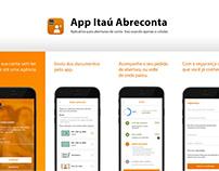 App Itaú Abreconta
