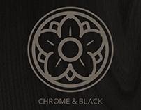CHROME & BLACK