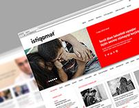 Istiqamet News Portal Logo & Website