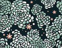 Summer Flowers: Pattern Design