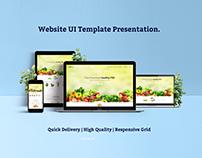 Food Web UI Design