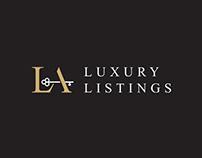 LA Luxury Listings Logo Design