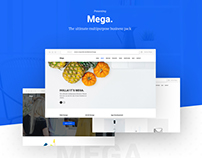 Mega - The Ultimate Multipurpose Web Template