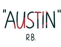 """AUSTIN"", one-page comic"