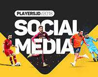 #SocialMedia3 /PLAYERS.ID /2018 Posts