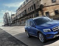 Mercedes-Benz GLB Key Visuals