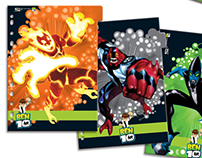 Licensing Products - Ben10 CN / Grafon's