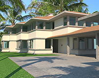 CZT PE. Casa en Punta Cana, Santo Domingo. DA&DI