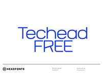 TECHEAD - FREE SANS SERIF FONT