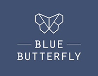 Blue Butterfly - Logo Collection
