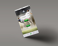 Web design - proposal for a betting company
