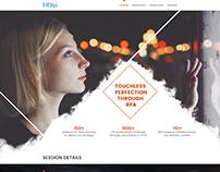 InFosys web layout