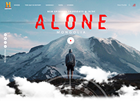 Alone: Mongolia History Channel