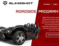 Slingshot microsite-landing page