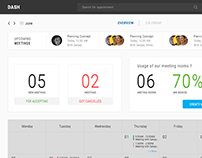Booking Meeting Room - Dashboard