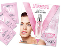 Promo materials for Vichy